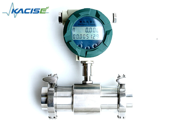 Sanitary Type Tri Clamp Flow Meter Thread Connection For Food Industry